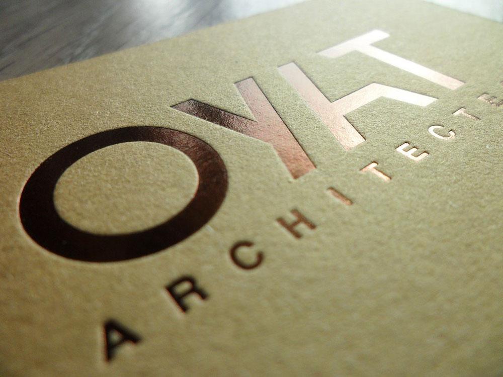 Carte De Visite Luce Imprimerie Paris Impression Luxe Marquage Dorure A Chaud Cuivre Bronze